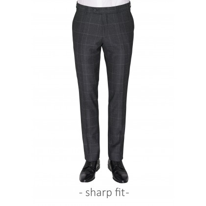 CG Frazer suit trousers in Glencheck design / Hose/Trousers CG Frazer